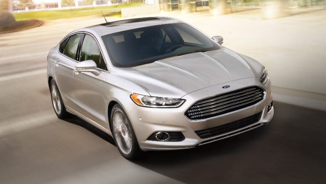 Ford is recalling about 550,000 SUVs and cars, including the 2016 Fusion sedan, in North America to fix a gearshift problem that could cause the vehicles to roll away unexpectedly.