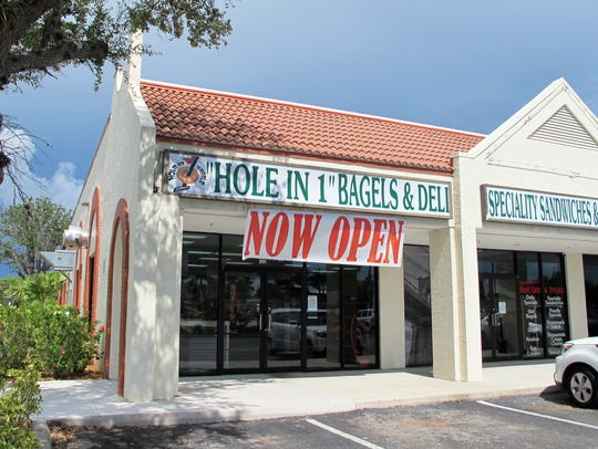 Hole in 1 Bagels & Deli opened in June in the former