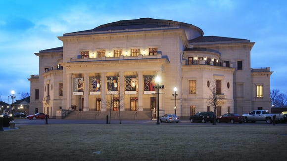 The Palladium at Carmel's Center for the Performing Arts is shown in March 2014.
