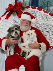 Guests will have the opportunity to have their four-legged family members photographed with Santa.