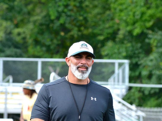 St. Joseph Regional football coach Augie Hoffmann grew a beard this fall, then brought his Green Knights a Non-Public Group 3 state title.