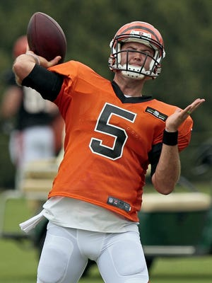 Cincinnati Bengals quarterback AJ McCarron is looking forward to his NFL debut on Monday Night Football.