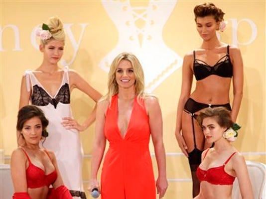 Britney Spears lingerie