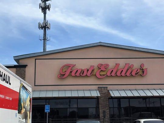 Fast Eddies, 4509 Sherwood Way, announced its closure