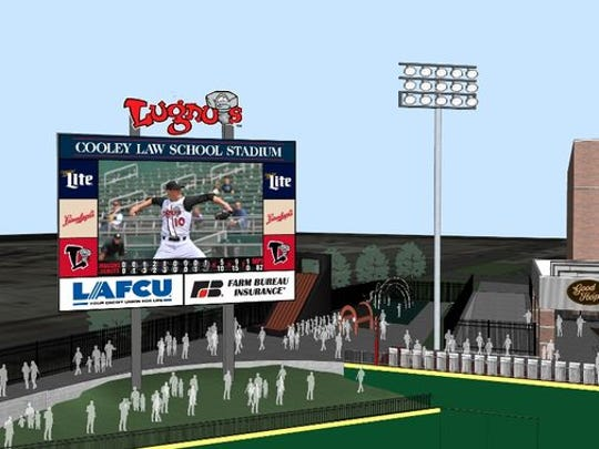 The Lugnuts will install a new scoreboard as part of a complete renovation of the stadium.