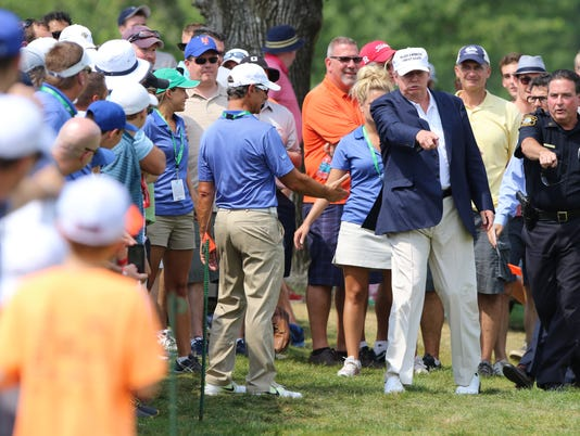 Barclays Golf Tournament -- The Final Round --