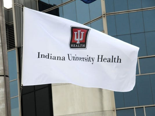 IU Health flag