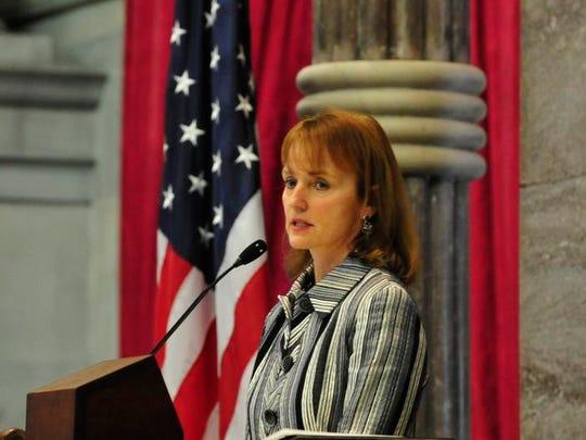 House Speaker Beth Harwell and Gov. Bill Haslam plan