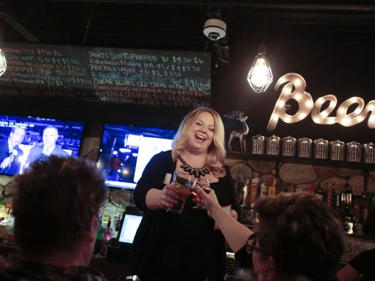 Girls' Pint Out chapter leader Rina Belanger is owner of Bierkeller Tavern and Eatery in Taylor.
