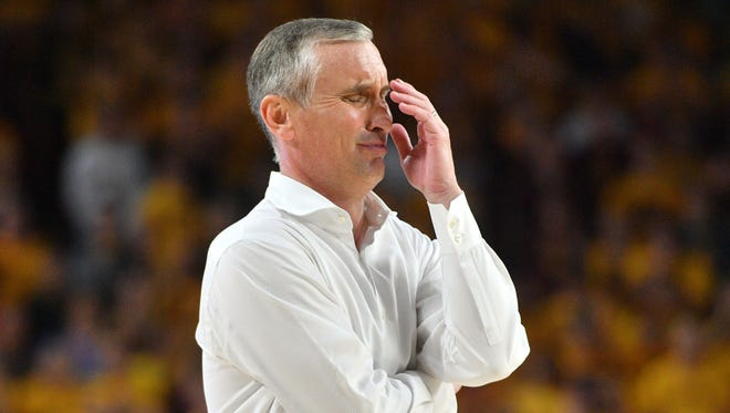 Bracketology: Bobby Hurley's ASU basketball team is losing ground in the latest NCAA Tournament projections for March Madness.