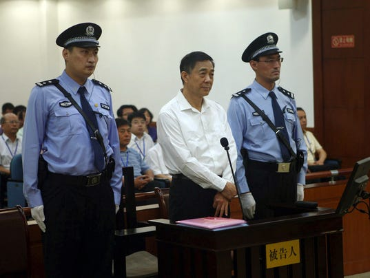 AP China Bo Xilai Verdict