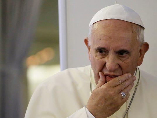 AP South Korea Pope