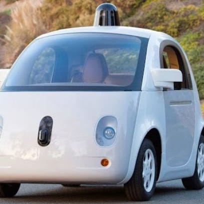 Google unveiled a new prototype of its self-driving