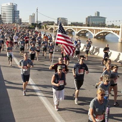 Thousands of runners took part in Pat's Run honoring