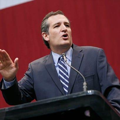 AUSTIN, TX - NOVEMBER 4: U.S. Sen. Ted Cruz speaks