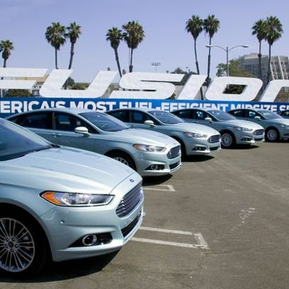 Ford 's Fusion is among the models being recalled for