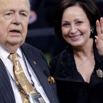 Tom and Gayle Benson
