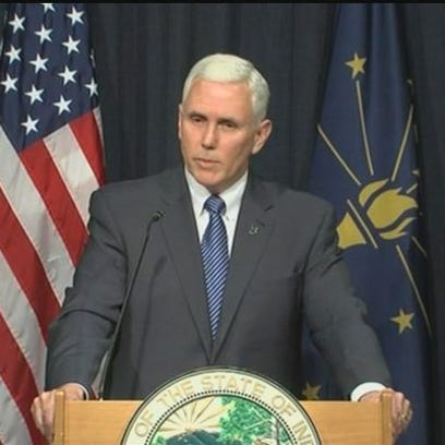 Indiana Gov. Mike Pence announced his reelection campaign