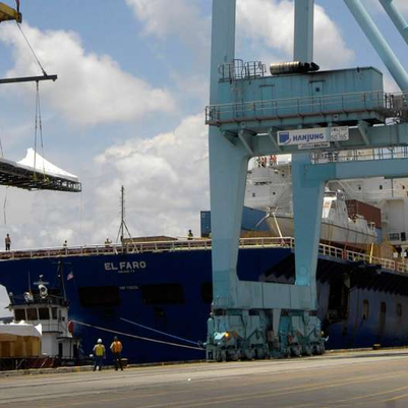 The El Faro, a cargo ship, is missing with 33 crew