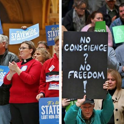 Supporters of expanding civil rights protections for