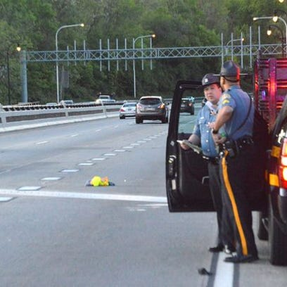 Delaware State Police on May 16 respond to Interstate
