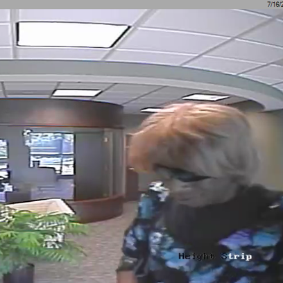 In this surveillance photo from a York Township bank