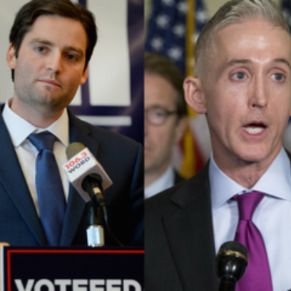 Democrat Chris Fedalei and Republican Rep. Trey Gowdy