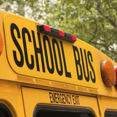 A school bus hit a child on Alabama Road in Camden's