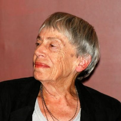 Author Ursula K. Le Guin.