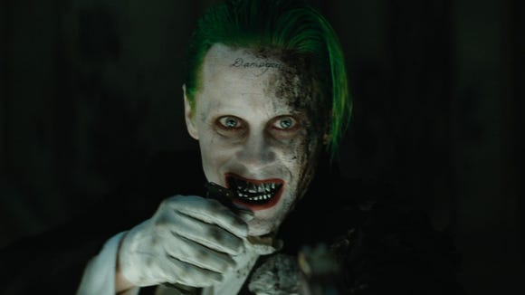 """The Joker (Jared Leto) is barely seen in """"Suicide Squad."""""""