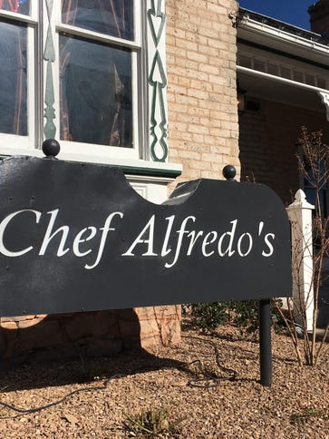Chef Alfredo's is located at 68 Tabernacle St., St.