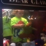 Missing boy found in claw machine