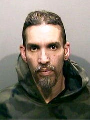 This June 5, 2017, file photo released by the Alameda County Sheriff's Office shows Derick Almena at Santa Rita Jail in Alameda County, Calif.