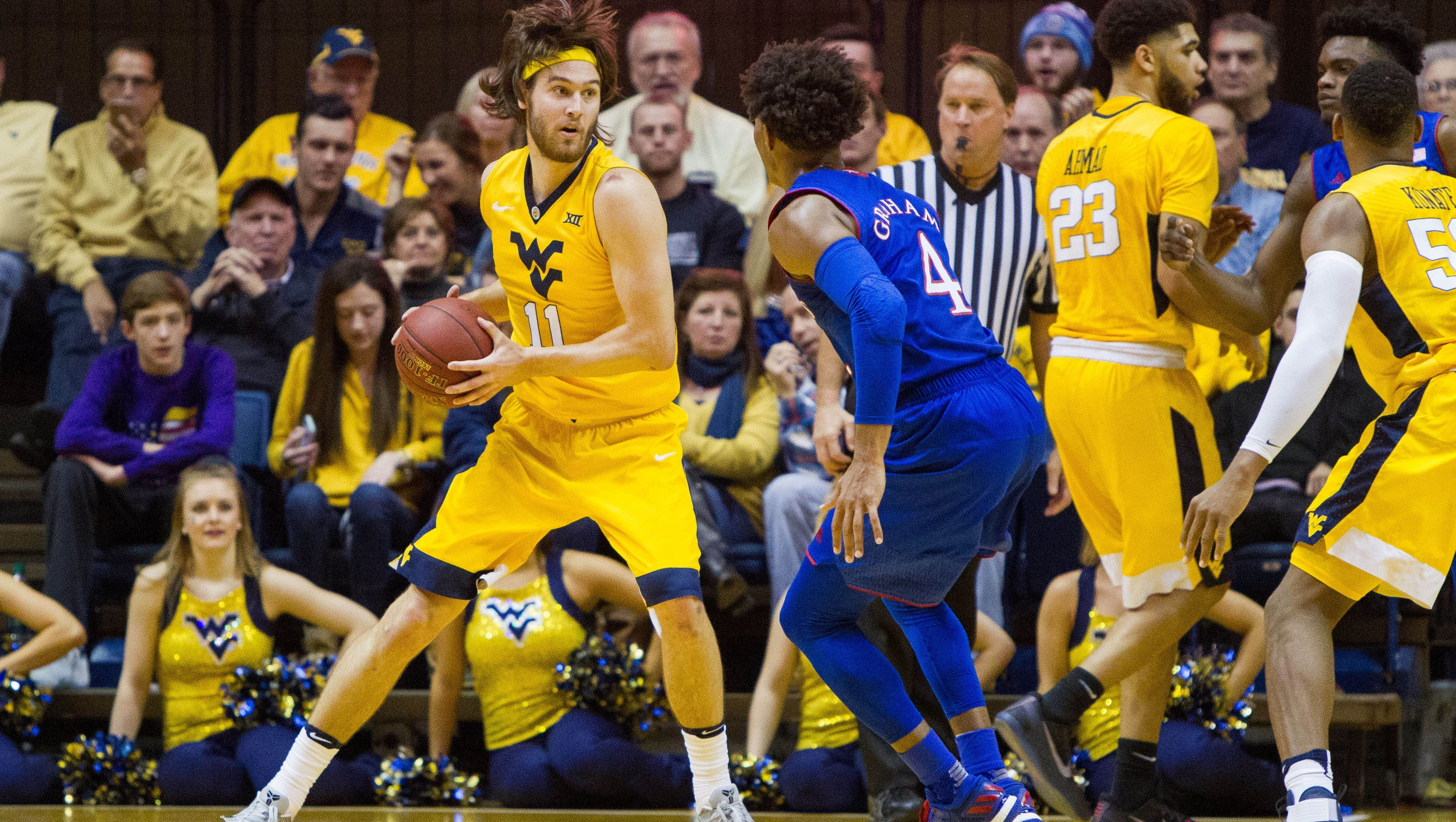 College basketball this week: West Virginia goes for sweep ...