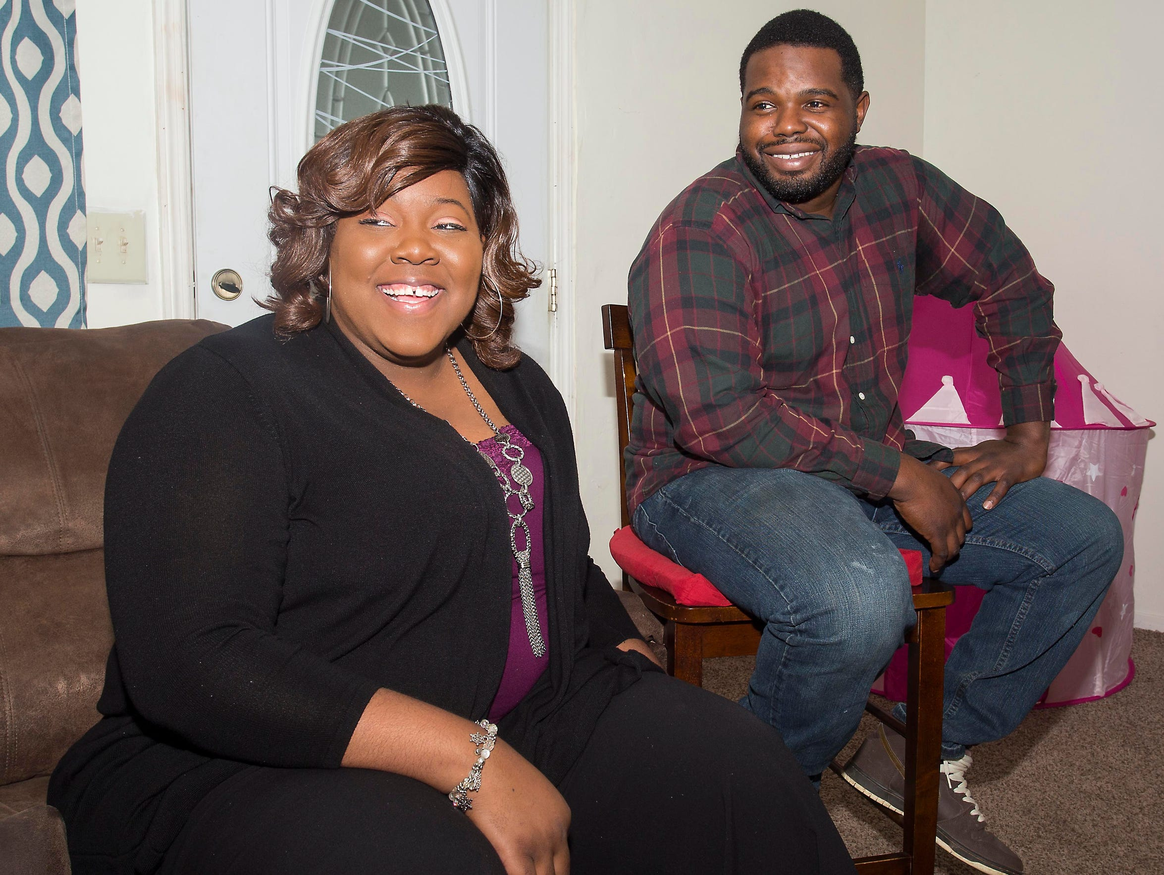 Tishana and Quantrel Alford