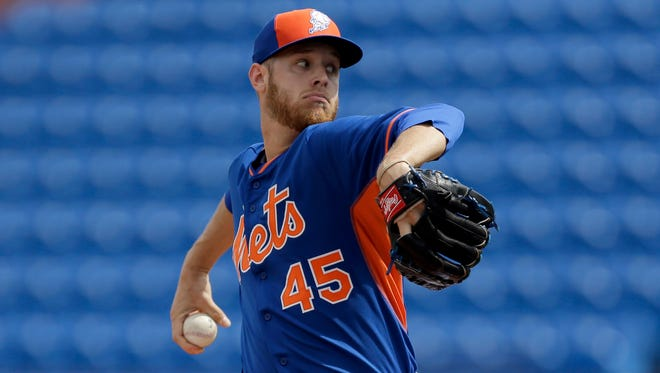 Mets manager Terry Collins isn't concerned with Zack Wheeler's rocky outing Monday against the Marlins.