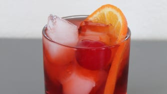 Cherry Bounce Old Fashioned