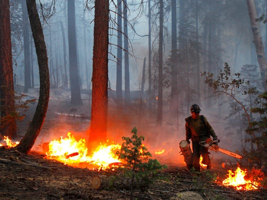 Congress makes progress on funding to fight wildfires