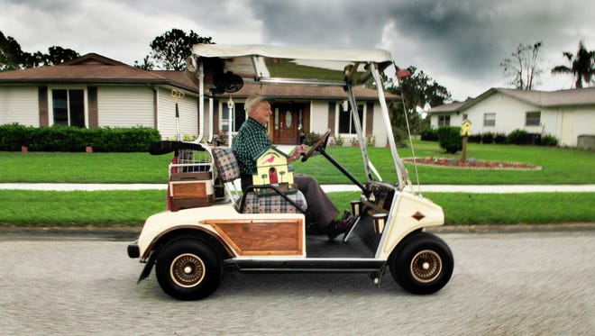 Viera residents want Brevard County to allow golf carts to travel across the Viera Boulevard I-95 overpass.