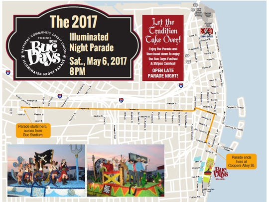 Buc Days Illumintaed Night Parade 2017