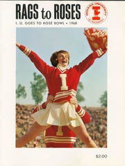 The game program for the 1968 Rose Bowl.