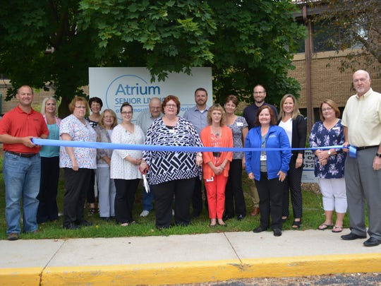 Atrium Senior Living-South Horizon Apartments celebrated their grand re-opening with a ribbon cutting and an open house on July 14 in Plymouth.