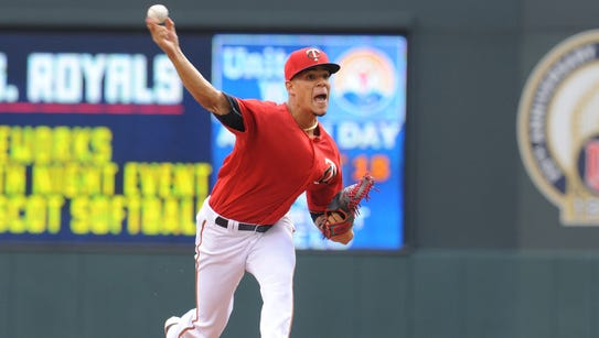 Jose Berrios went 1-3 with a not-so-pretty 8.59 ERA