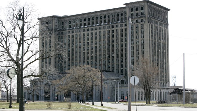 The landmark but empty Michigan Central Depot in Detroit is owned by Matty Moroun. Chamberlain Glass & Metal Inc., of St. Clair, said Monday it has reached agreement with the Moroun family that owns the train station to produce replacement windows for the building.