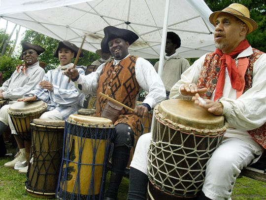 The annual Pinkster Festival, an African American celebration of spring that dates back to the 17th century, takes place at Philipsburg Manor on May 17.