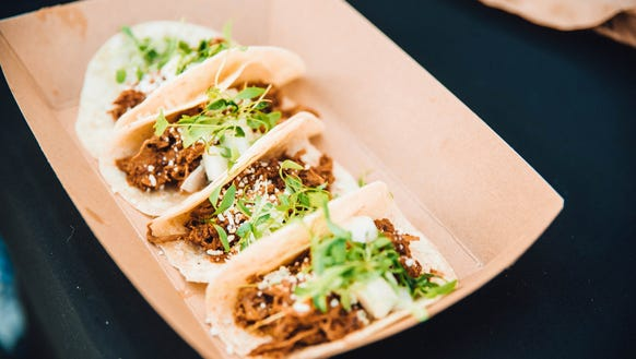 Gov't Taco will be serving its signature Uncle Swine
