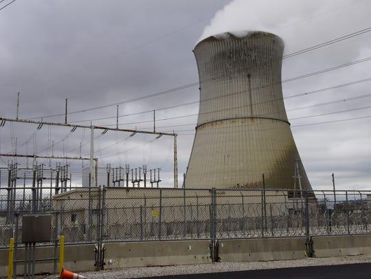 The Davis-Besse Nuclear Power Station in Oak Harbor