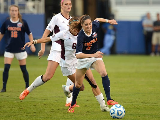 NCAA Womens Soccer: College Cup-Semi Final-Texas A&M vs Virginia