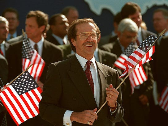 Sonny Bono, elected to Congress in 1994 after beginning