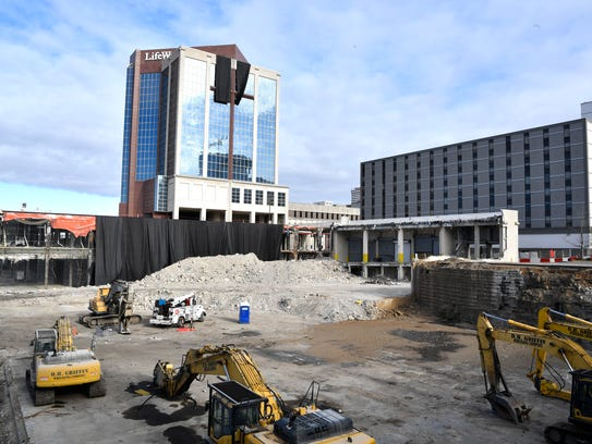 Demolition at the old LifeWay site will progress with